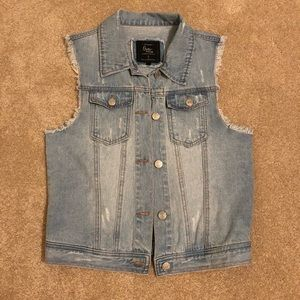 NWOT Cotton On Jean Vest